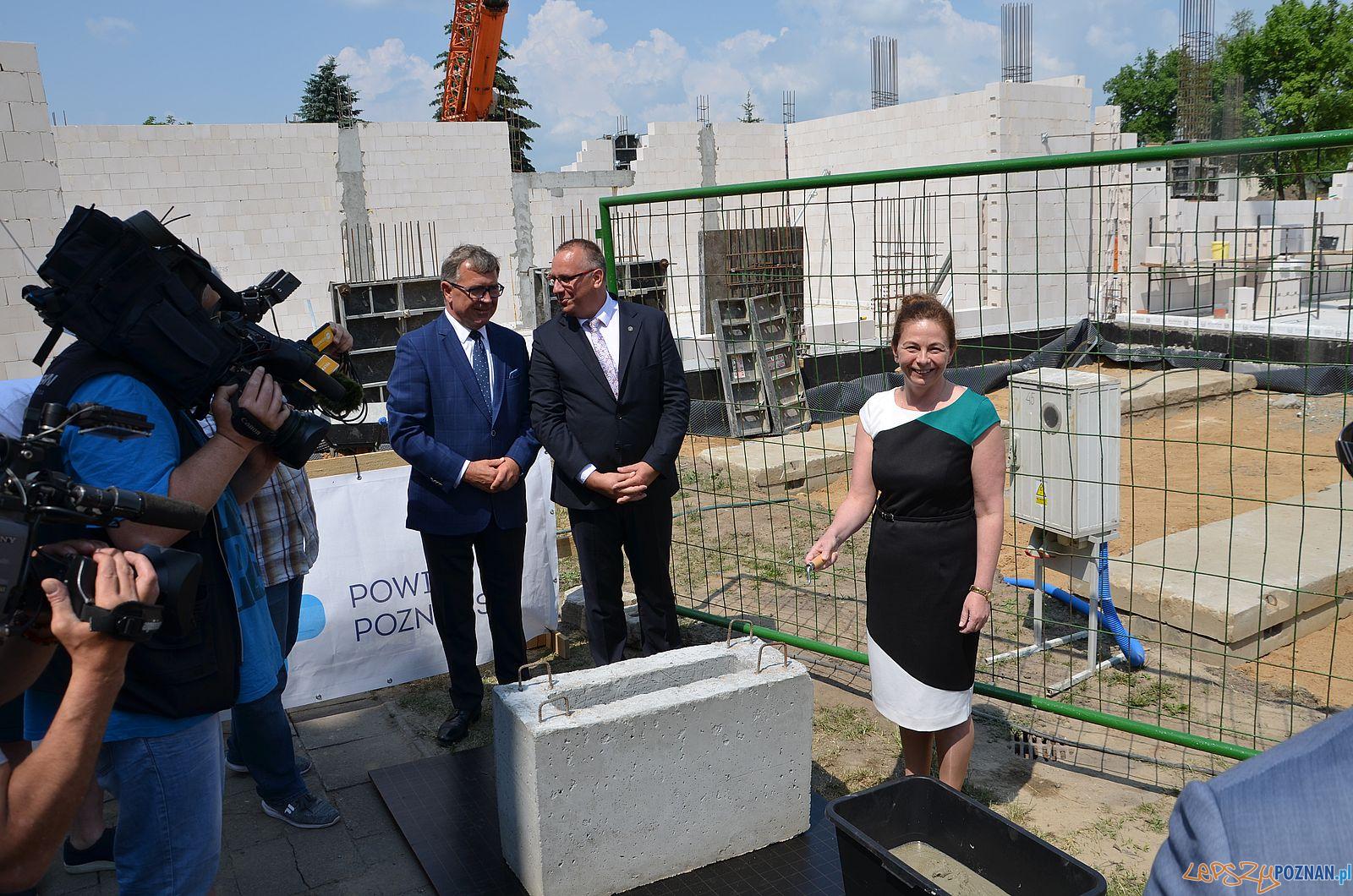 Rozbudowa szkoły w Murowanej Goślinie  Foto: Powiat Poznańki / materiały prasowe