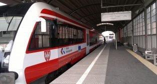 Koleje Wielkopolskie - Dworzec Cesarski  Foto: T. Dworek