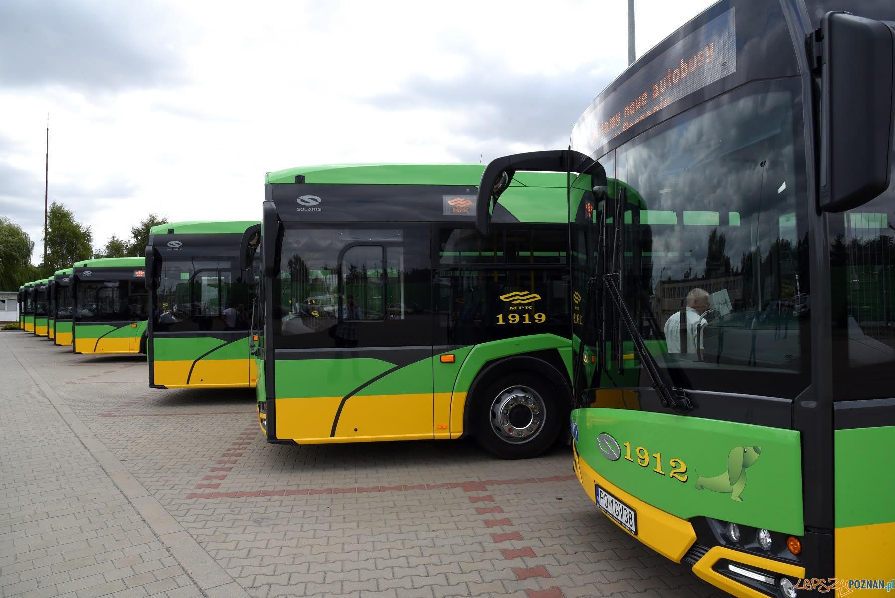 Nowe autobusy na poznańskich ulicach  Foto: UMP