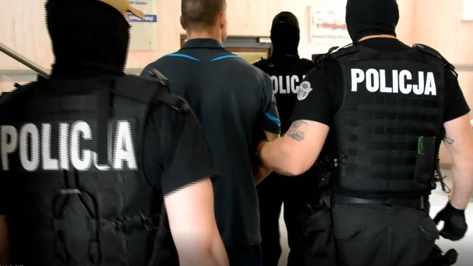 Nożownik z Jeżyc zatrzymany!  Foto: KMP w Poznaniu