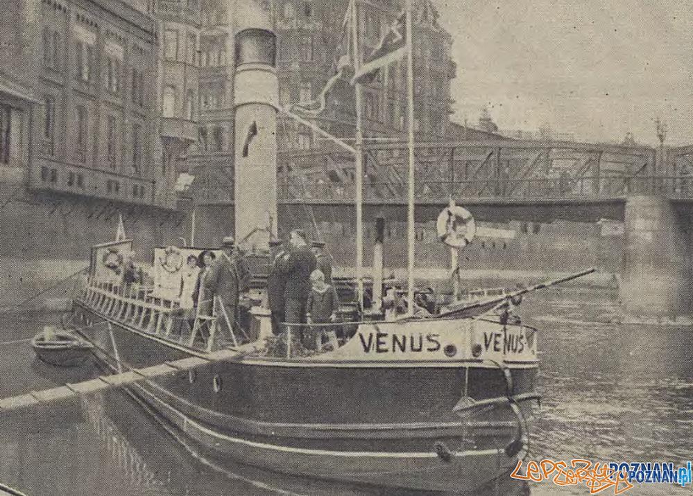 Parowiec Żeglugi Wielkopolskiej  Foto: Ilustracja Poznańska z 4.08.1931 za: Wielkopolska Biblioteka Cyfrowa