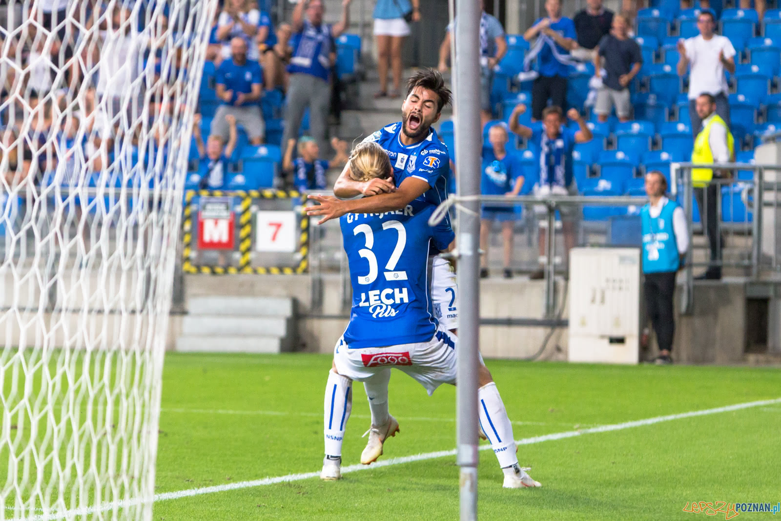 Lech Poznań - FC Shakhtyor Soligorsk (Christian Gytkjaer, Joao  Foto: lepszyPOZNAN.pl/Piotr Rychter