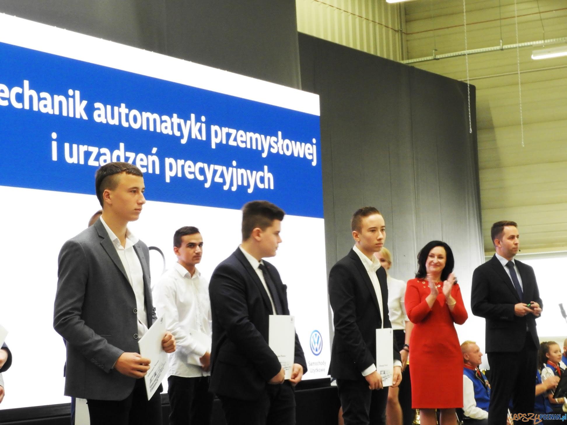 Kształcenie zawodowe w VW Poznań  Foto: VW / materiały prasowe