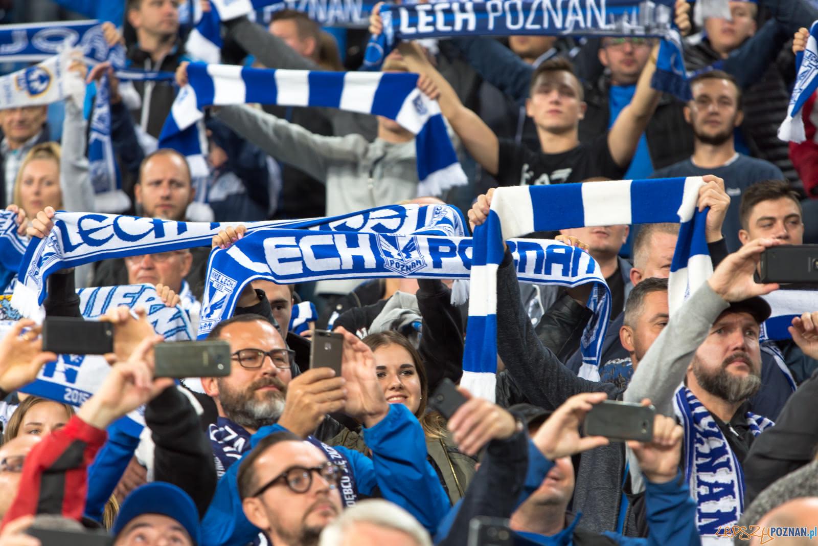 Lech Poznań - Piast Gliwice (najlepsi kibice na świecie)  Foto: lepszyPOZNAN.pl/Piotr Rychter