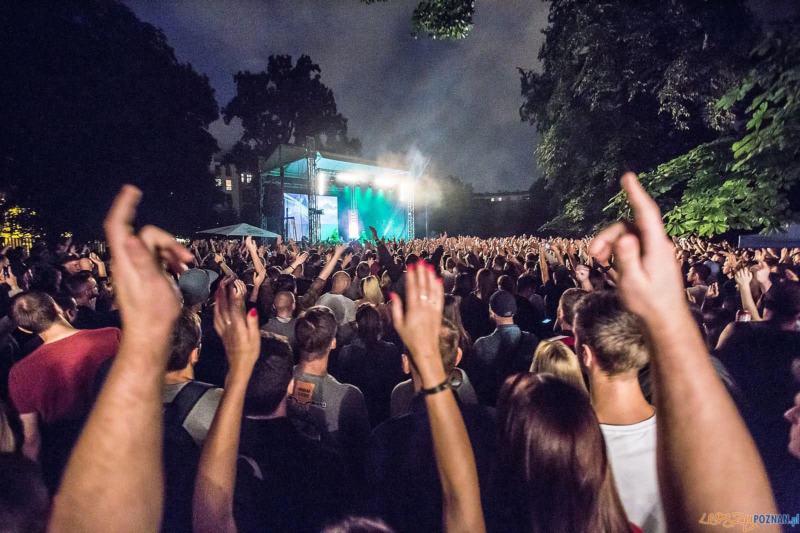 Koncert w parku Starego Browaru  Foto: Jakub Wittchen / Stary Browar