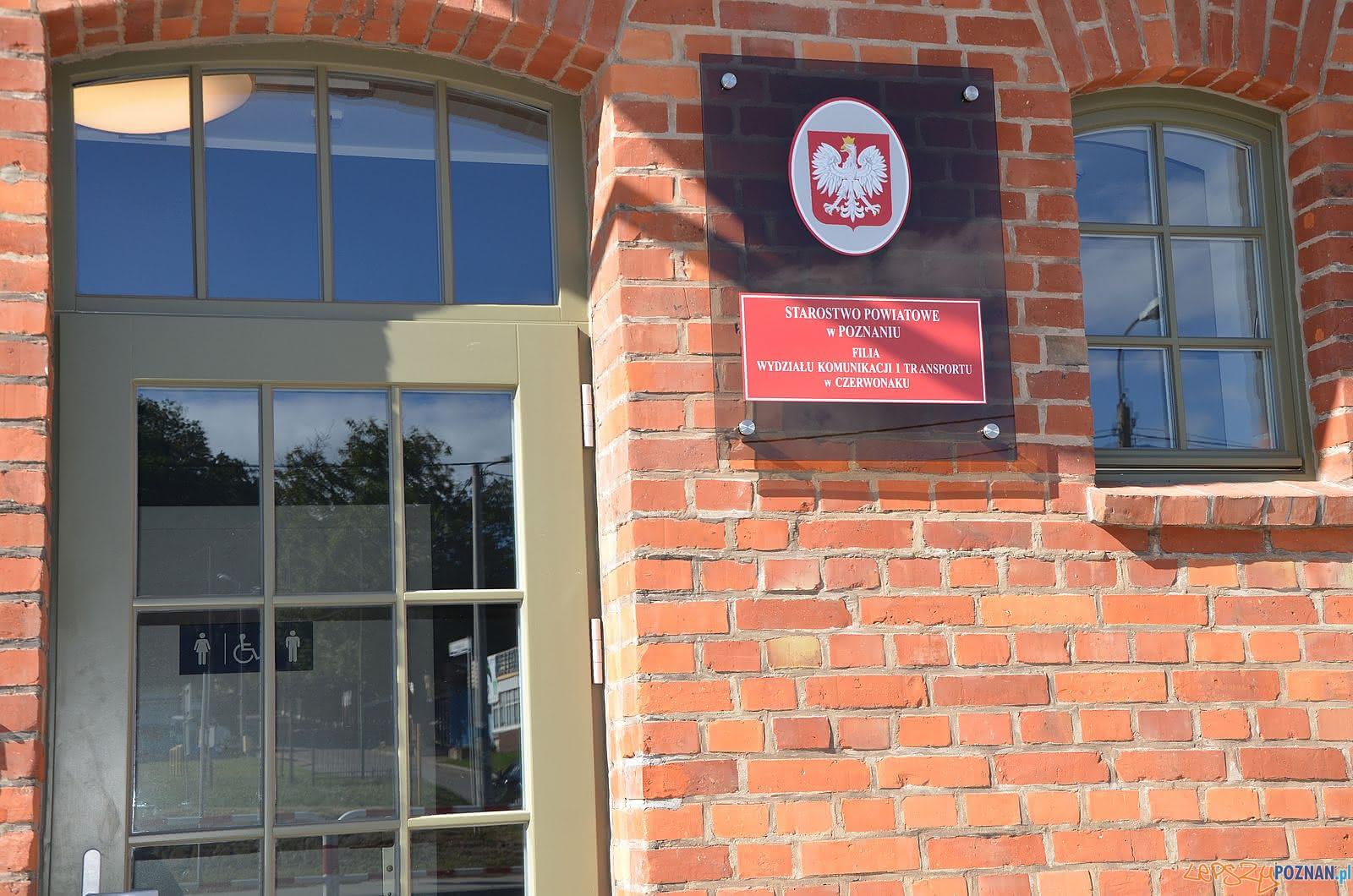 Filia powiatowego Wydziału Komunikacji w Czerwonaku  Foto: Powiat Poznański / materiały prasowe