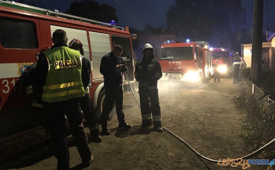 Wybuch gazu pod Murowaną Gośliną  Foto: UMiG w Murowanej Goślinie