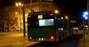 Autobus nocny - linia nocna  Foto: ZTM