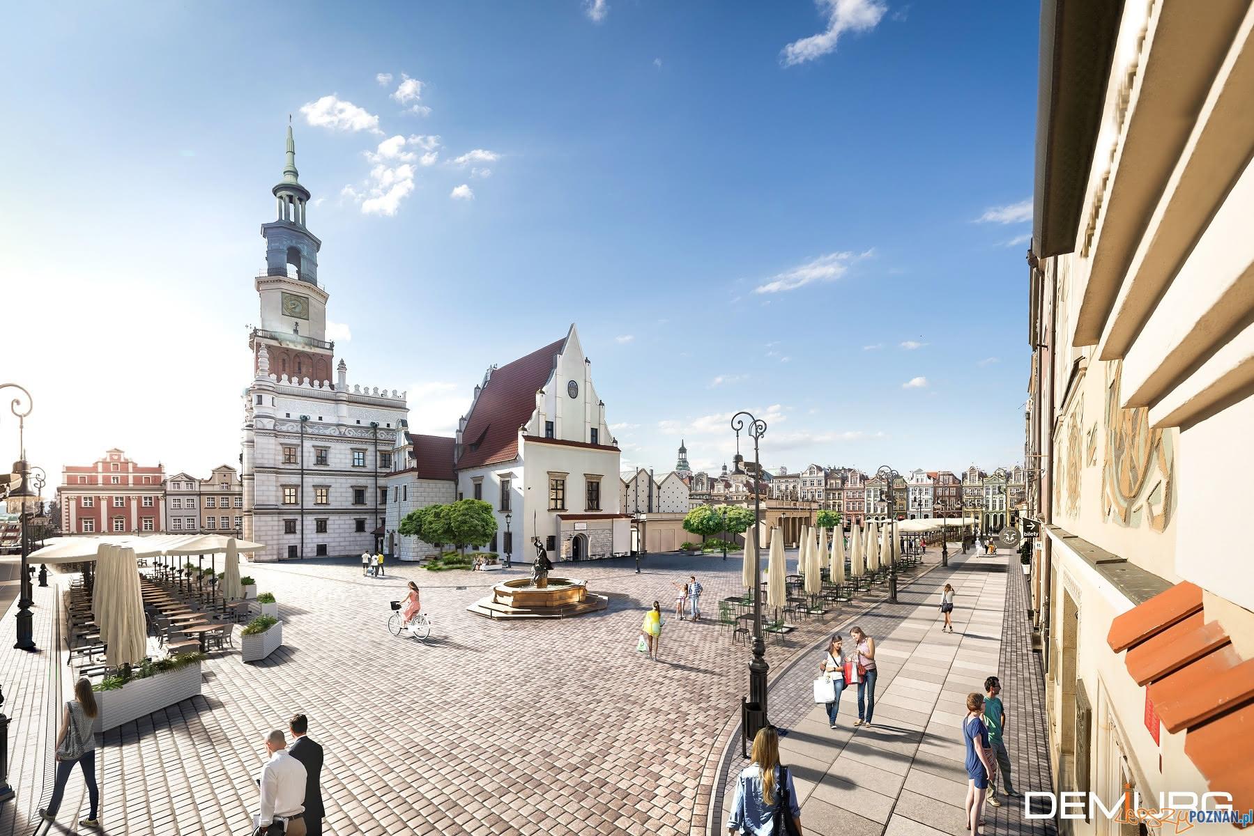 plyta starego rynku po odnowieniu  Foto: materiały prasowe / Demiurg