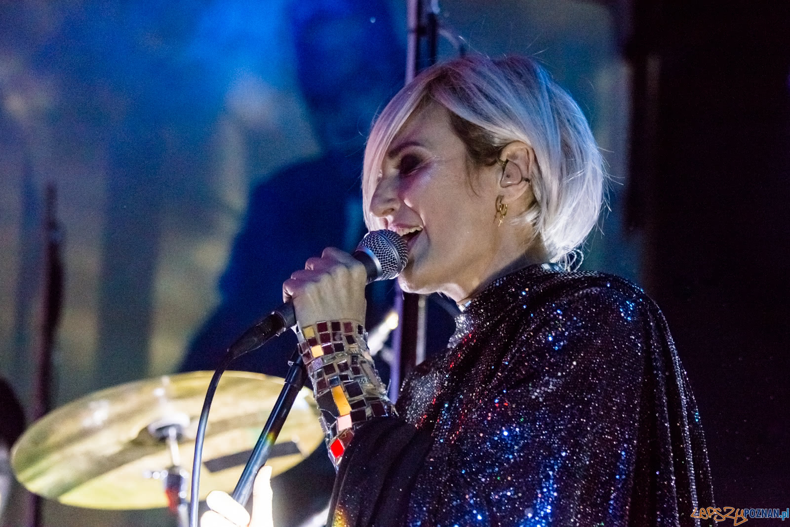 Reni Jusis w klubie Blue Note - Poznań 16.11.2018 r.  Foto: LepszyPOZNAN.pl / Paweł Rychter