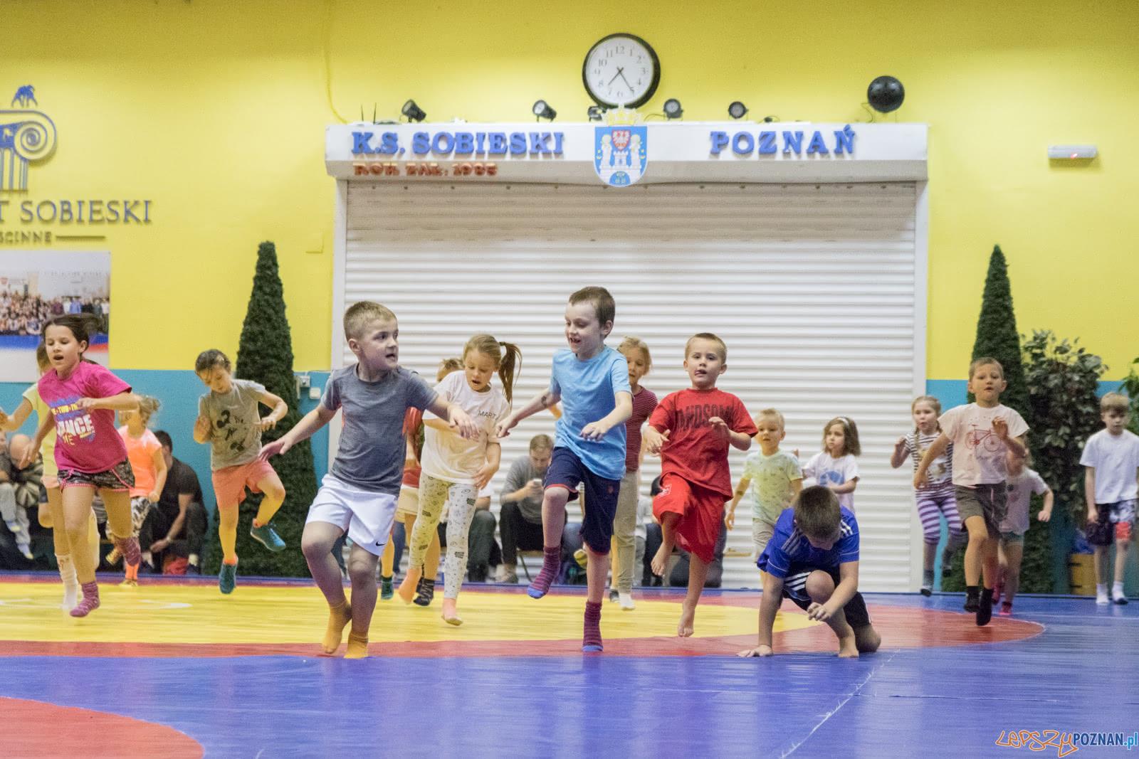 Turniej w mocowaniu dla dzieci  Foto: lepszyPOZNAN.pl / Ewelina Jaśkowiak