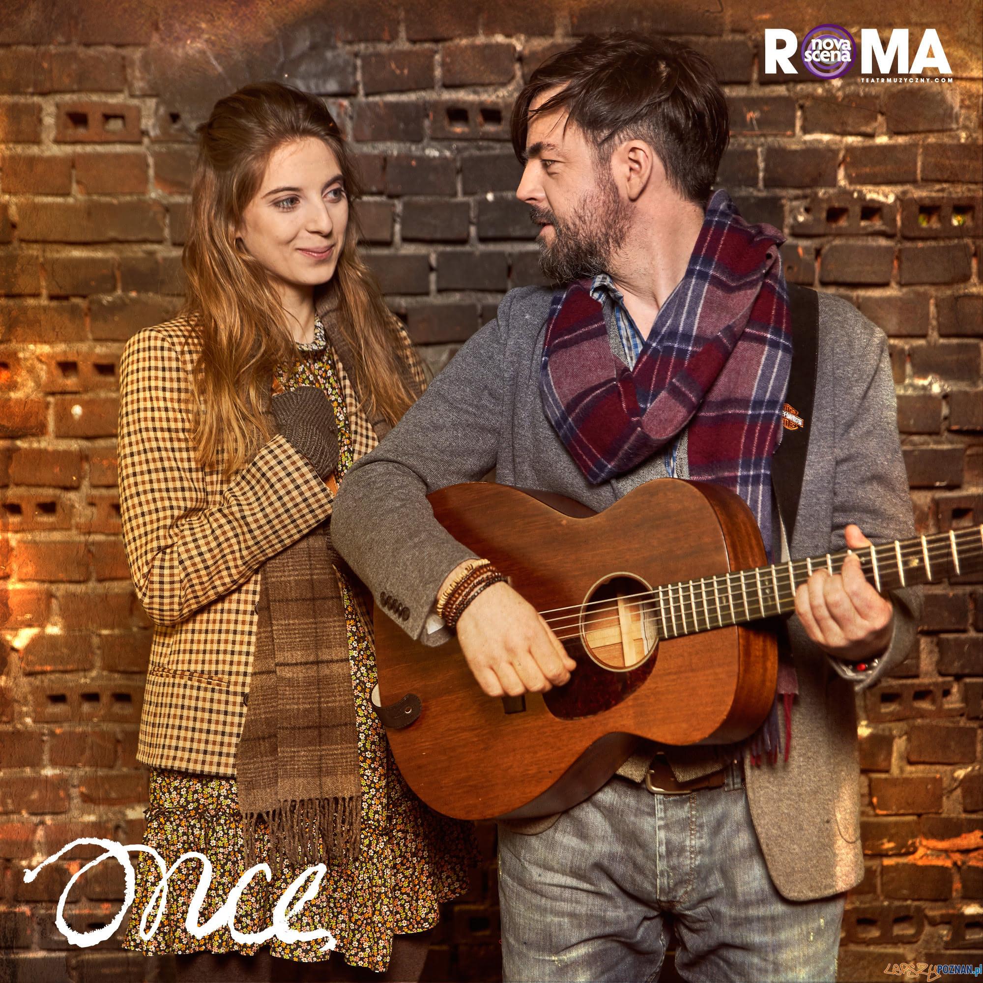 Musical Once - Marta Wągorcka Adam Krylik  Foto: Tetr Roma / KAROL MANK