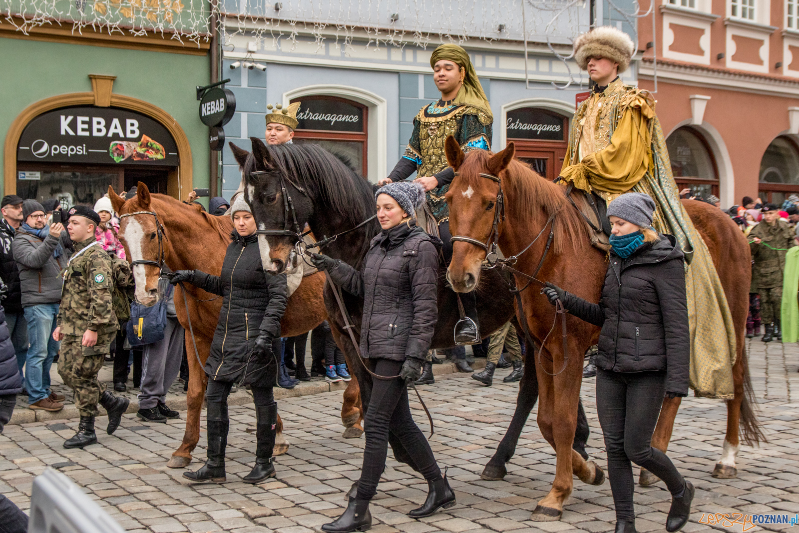 Orszak Trzech Króli  Foto: lepszyPOZNAN.pl / Ewelina Jaśkowiak