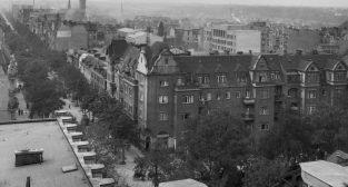 Jezyce 1934 - ul. Dąbrowskiego  Foto: Narodowe Archowum Cyfrowe / IKC