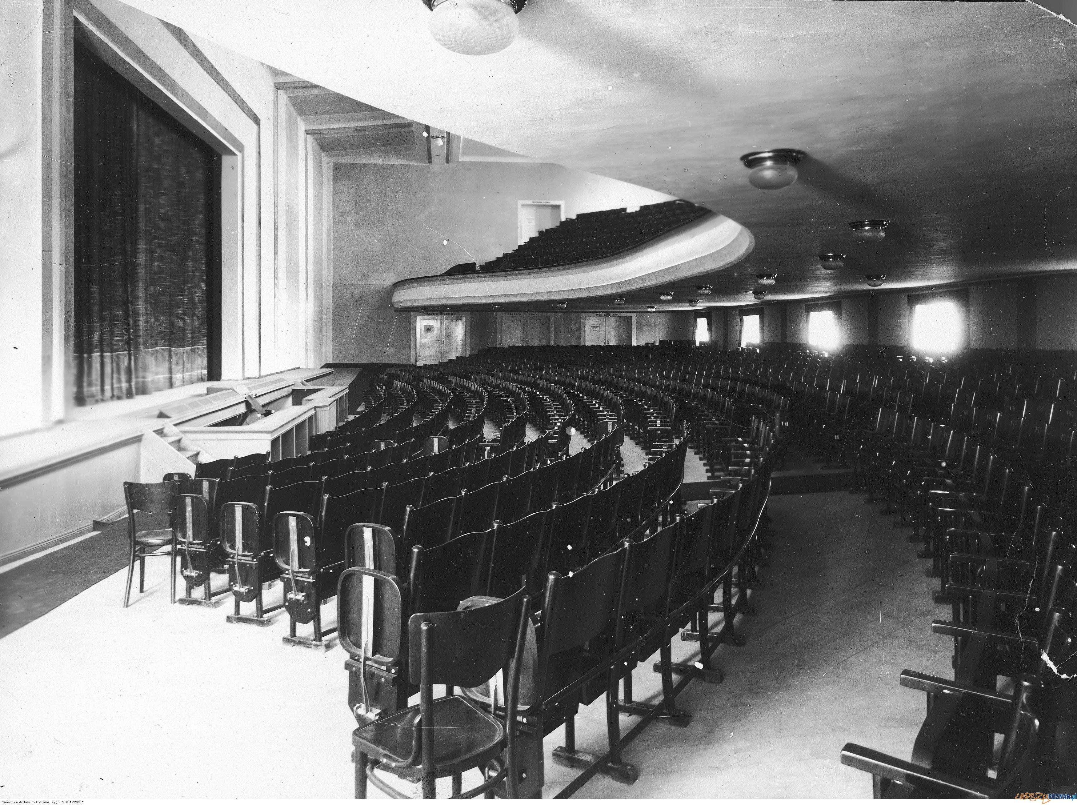 Kino Słońce 1929-31 - Plac Wolności  Foto: Narodowe Archiwum Cyfrowe / NAC /domena publiczna