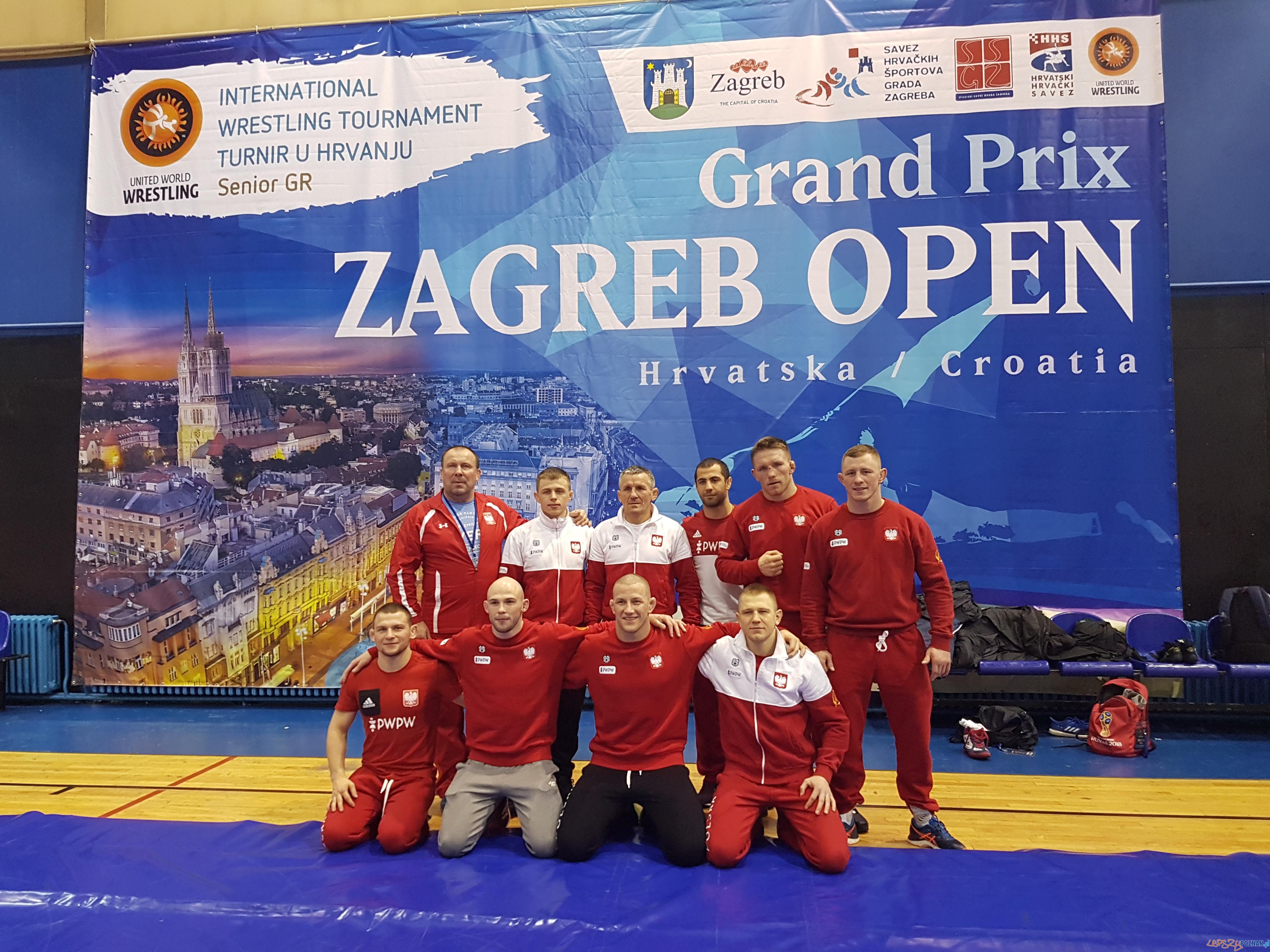 Grand Prix Zagreb Open 2019  Foto: Tadeusz Michalik