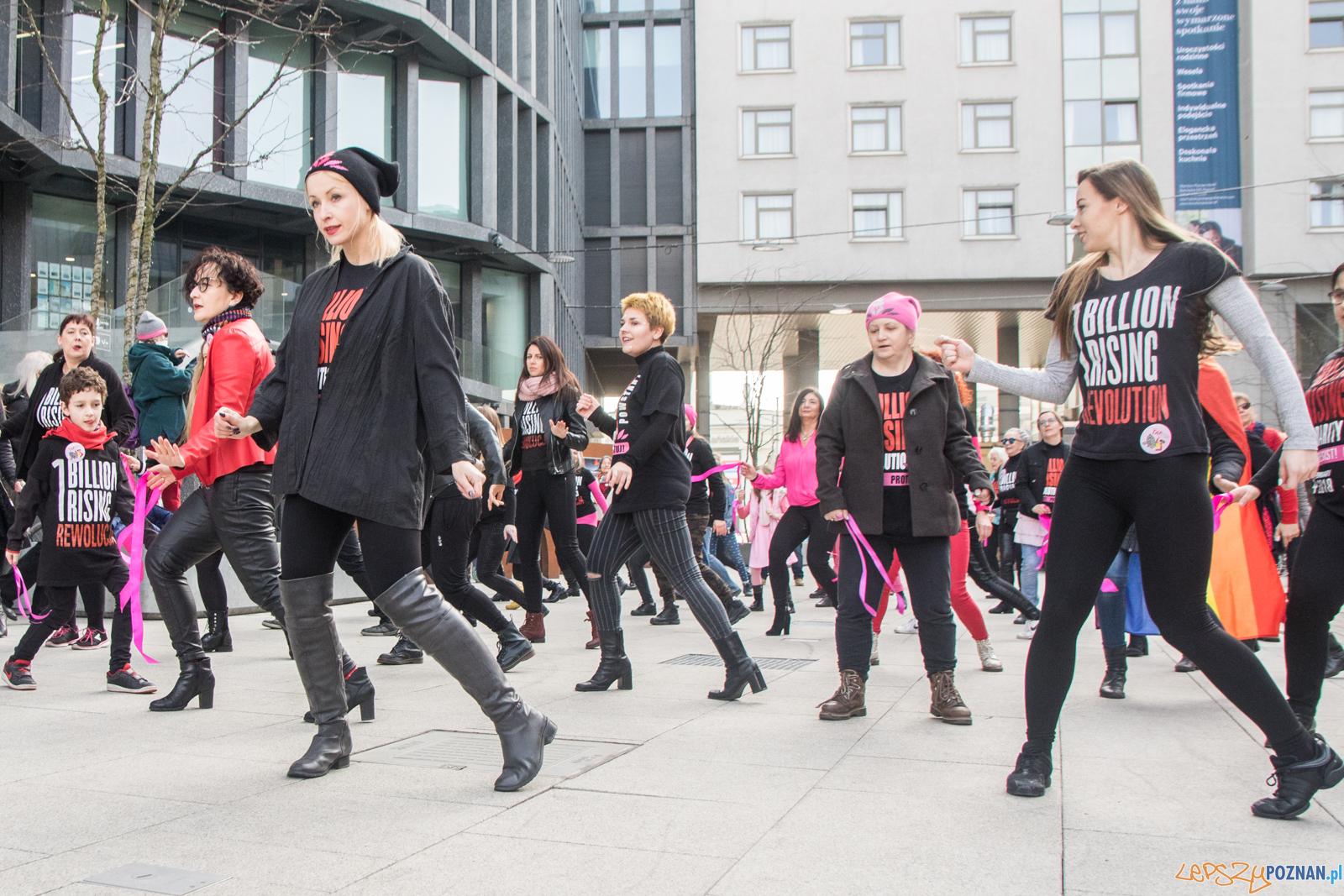 One Billion Rising Poznań  Foto: lepszyPOZNAN.pl / Ewelina Jaśkowiak