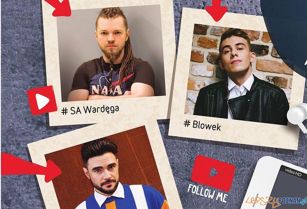 Znani youtuberzy w Poznaniu  Foto: materiały prasowe