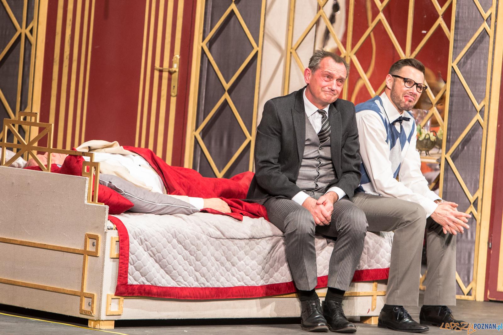 """""""Dajcie mi tenora!"""", spektakl Teatru Capitol  z Warszawy w pozna  Foto: Paweł Rychter"""