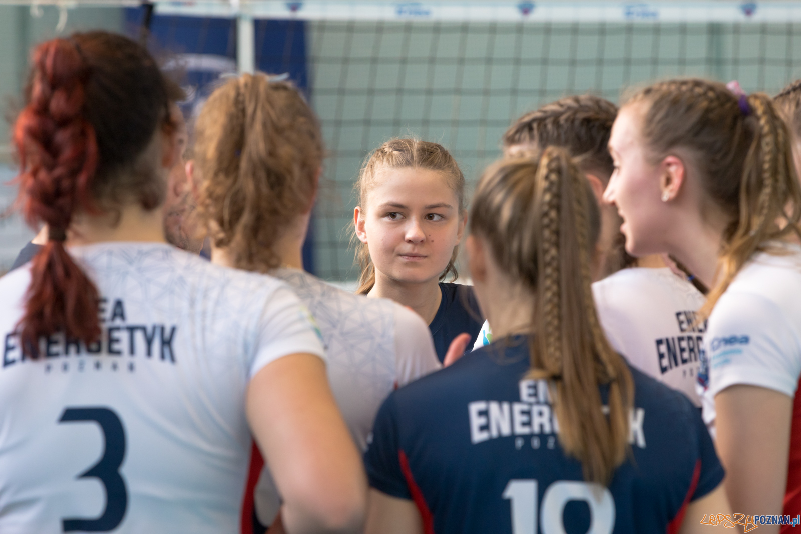 Półfinał Mistrzostw Polski w Piłce Siatkowej Kadetek  Foto: lepszyPOZNAN.pl/Piotr Rychter