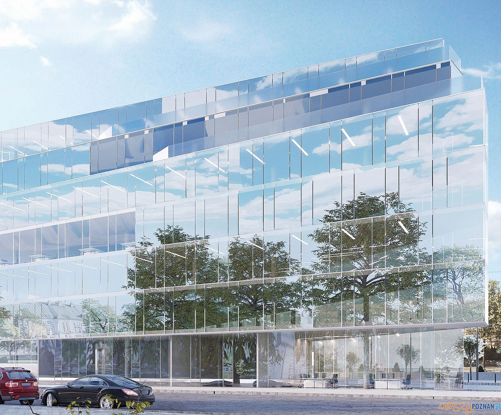 Projekt nowego hotelu przy Zielonej / Lewandowskiej  Foto: Structure Capital / materiały prasowe