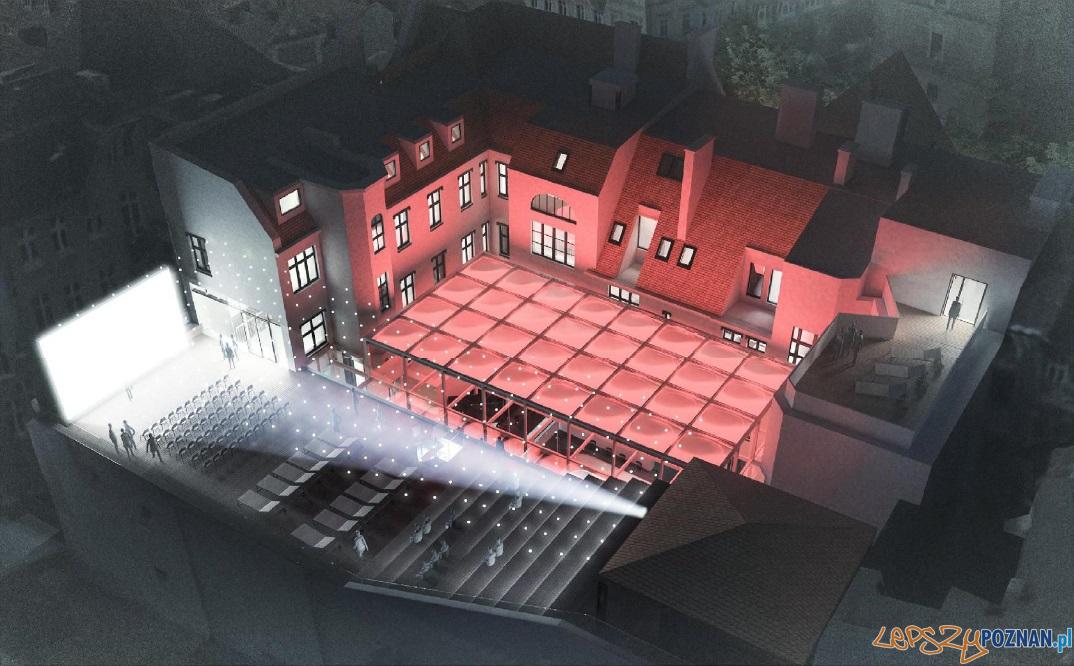 projekt nowej siedziby Estrady Poznańskiej  Foto: materiały prasowe