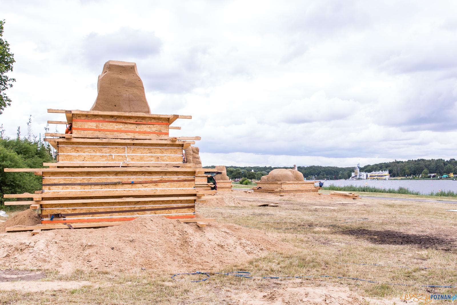Poznań Sand Festival 2019, czyli Festiwalu Rzeźby Piaskowej –