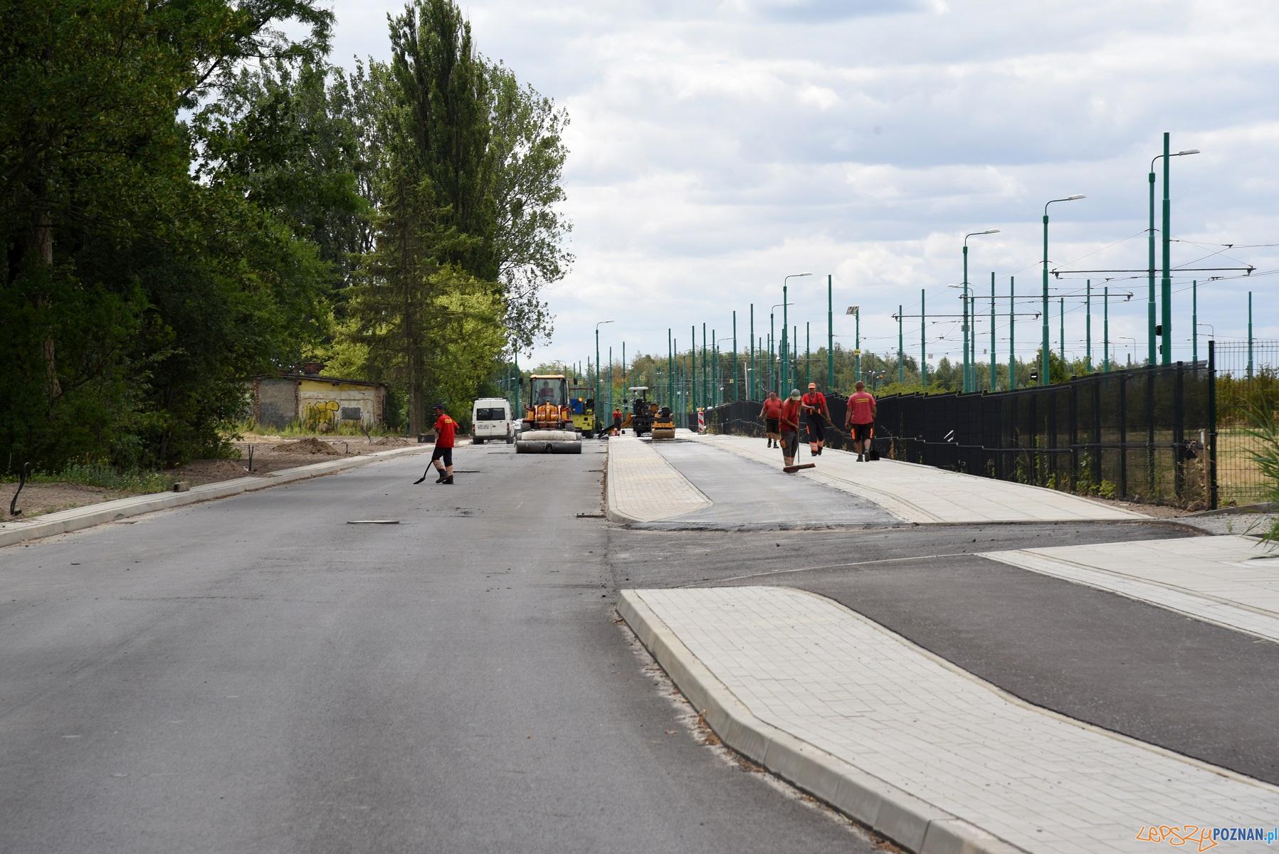 Koniec przebudowy ul. Folwarcznej coraz bliżej  Foto: materiały prasowe UMP