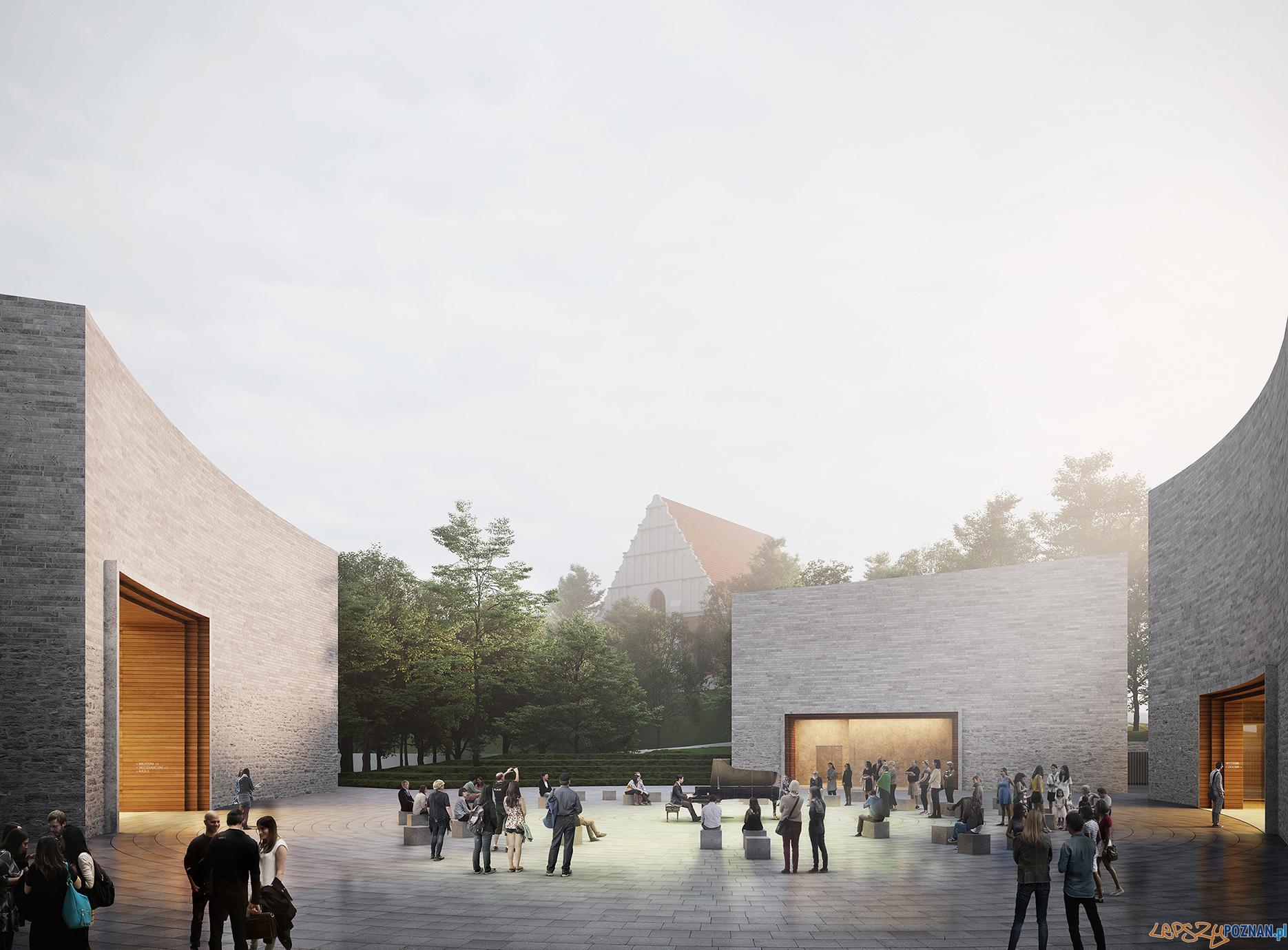 koncepcja nowej siedziby Muzeum Powstania Wielkopolskiego w Poznaniu MUZEALNY zmniejszony2  Foto: materiały prasowe / WXCA