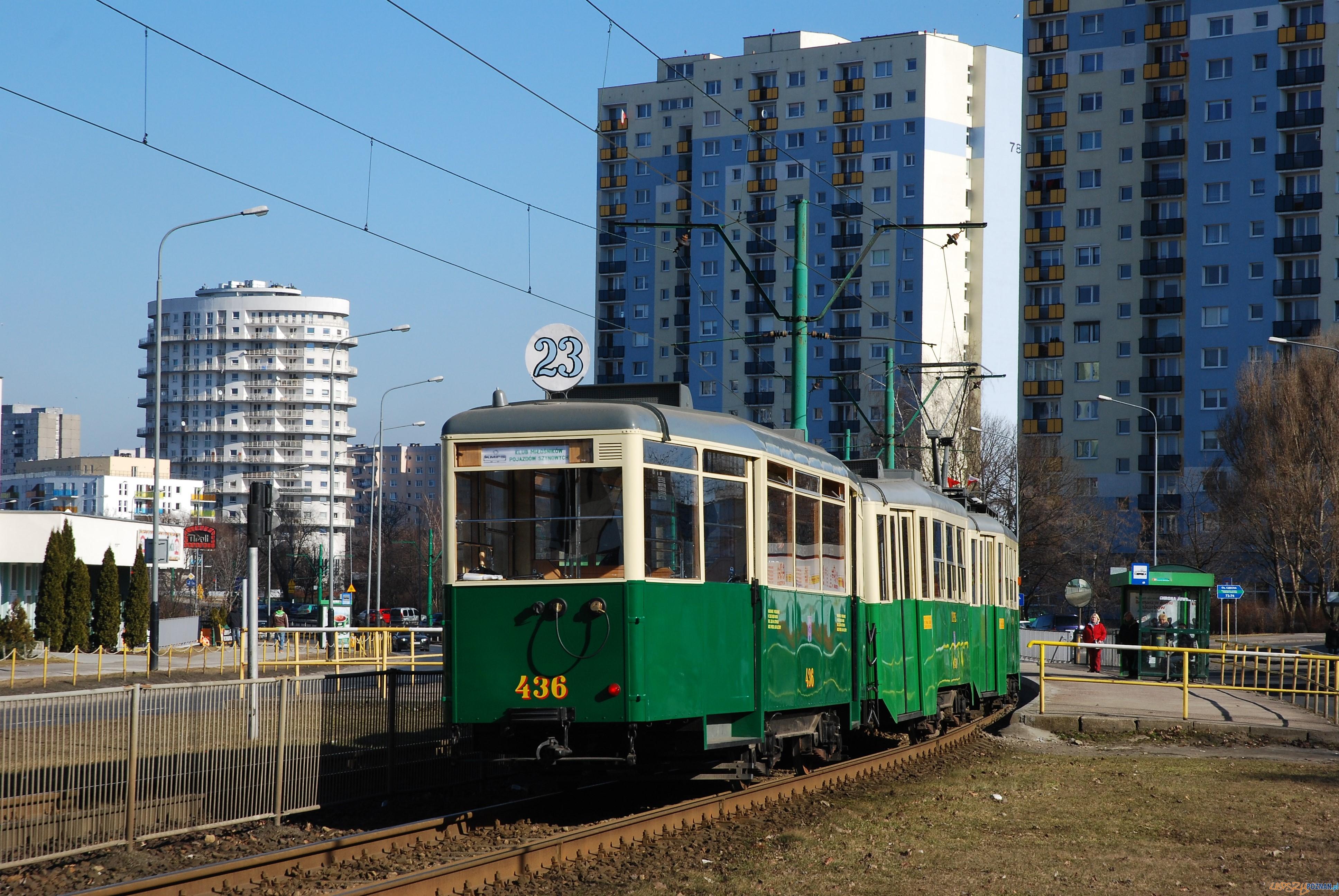 tramwaj-linii-nr-23-na-trasie-Gornego-Tarasu-Rataj-w-2014-roku  Foto: materiły prasowe