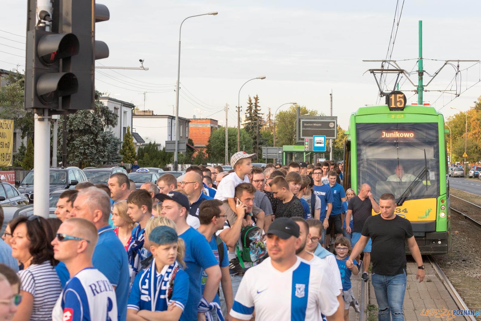 Dojazd na mecz Kolejorza  Foto: lepszyPOZNAN.pl/Piotr Rychter