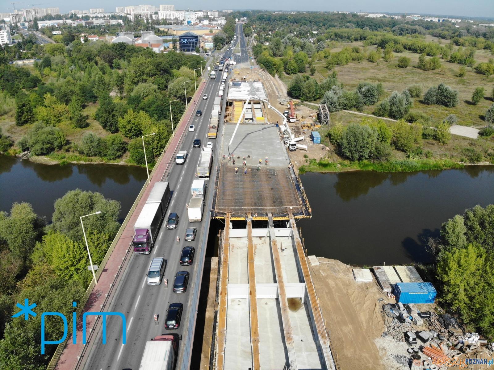 Przebudowa mostu Lecha  Foto: materiały prasowe / PIM
