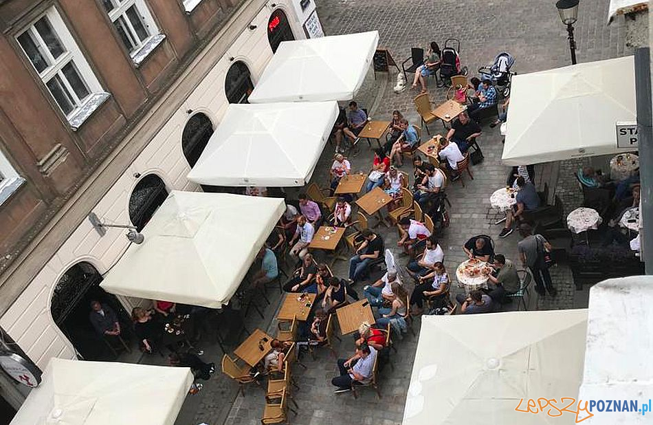 Wożna - ogródki gastronomiczne  Foto: Rada Osiedla Stare Miasto