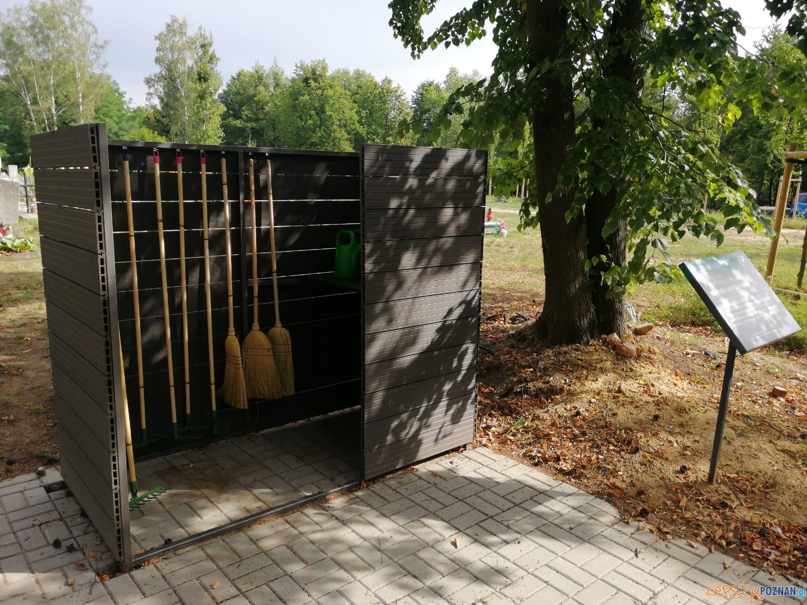 Wypożyczalnie sprzętu ogrodowego na cmentarzach  Foto: materiały prasowe / UMP