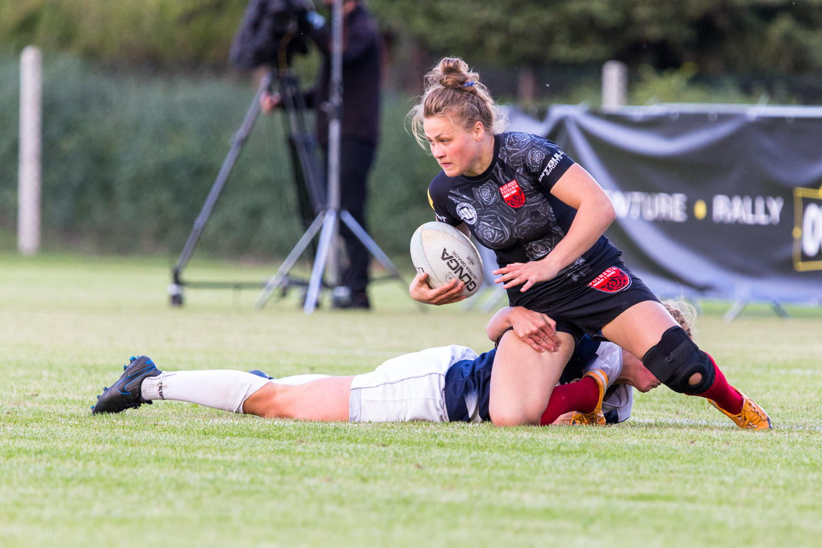 International Rugby Challenge: Black Roses Posnania - USV Poczda  Foto: LepszyPOZNAN.pl / Paweł Rychter