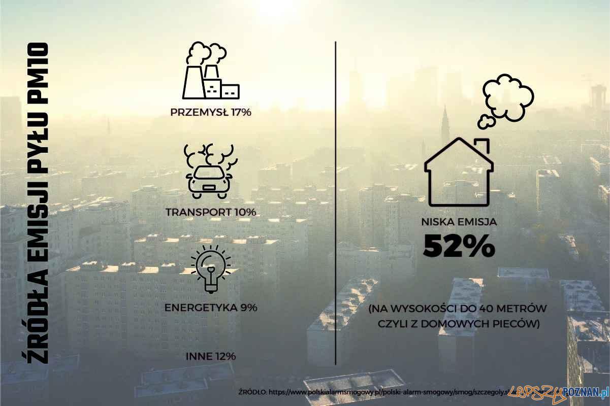 Lepiej bez smogu_infografika  Foto: materiały prasowe