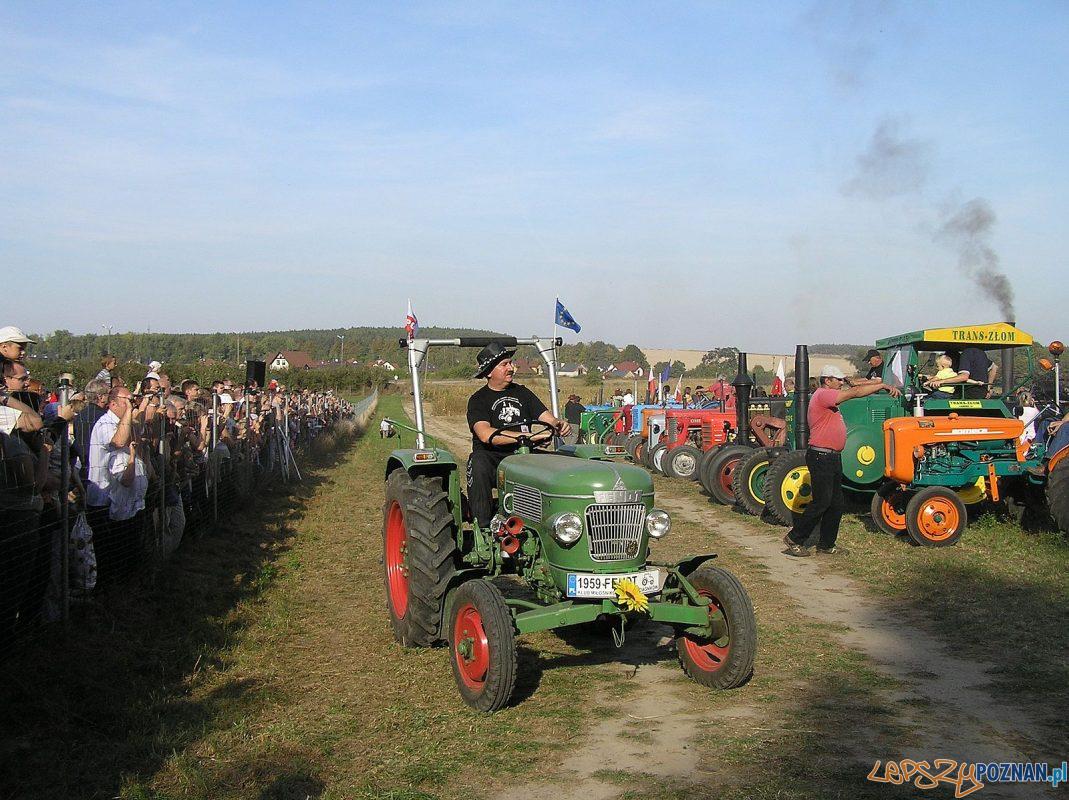 Muzeum w Szreniawie - traktory - atrakcje Retro show Foto: materiały prasowe