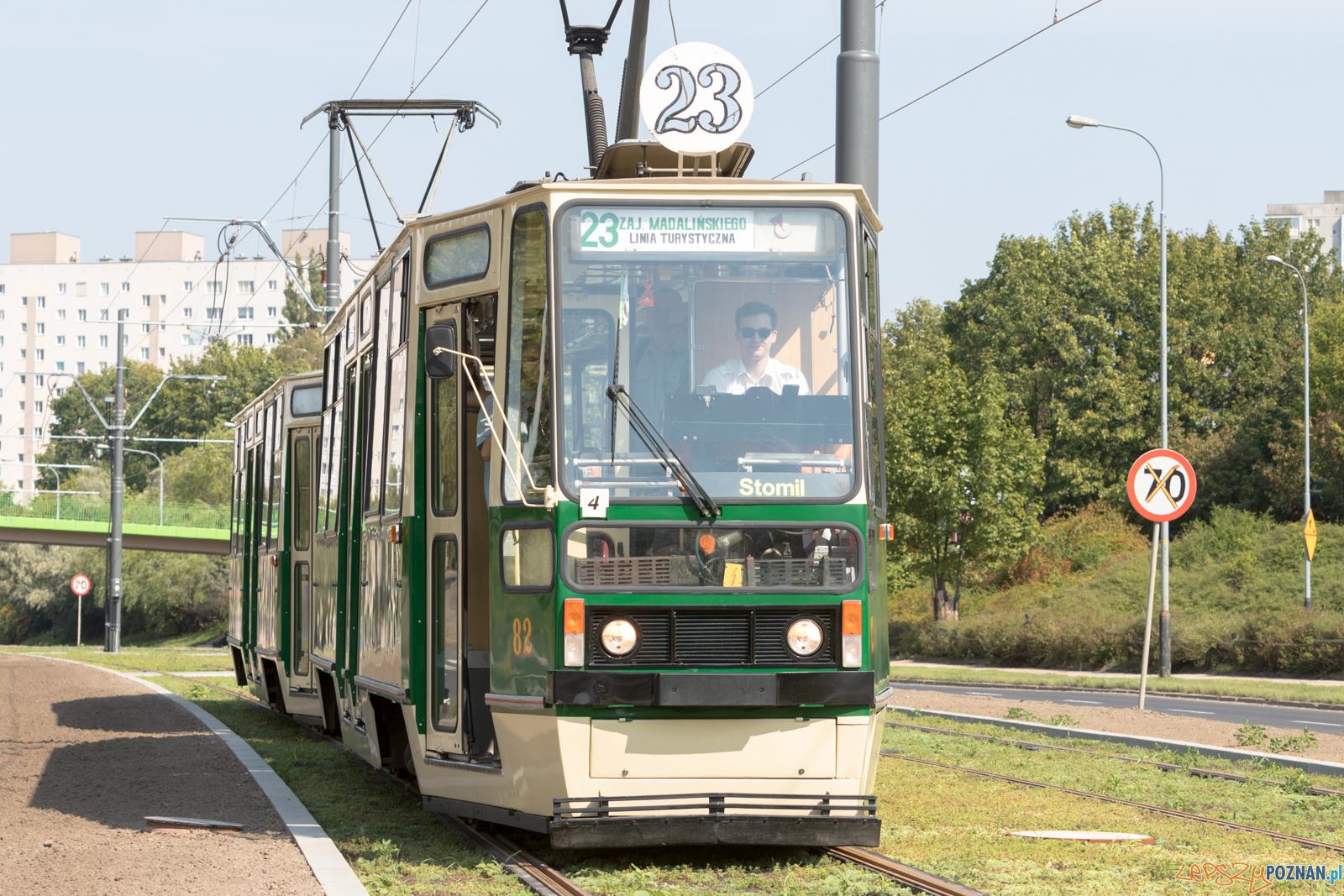 Linia turystyczna na GTR  Foto: lepszyPOZNAN.pl/Piotr Rychter