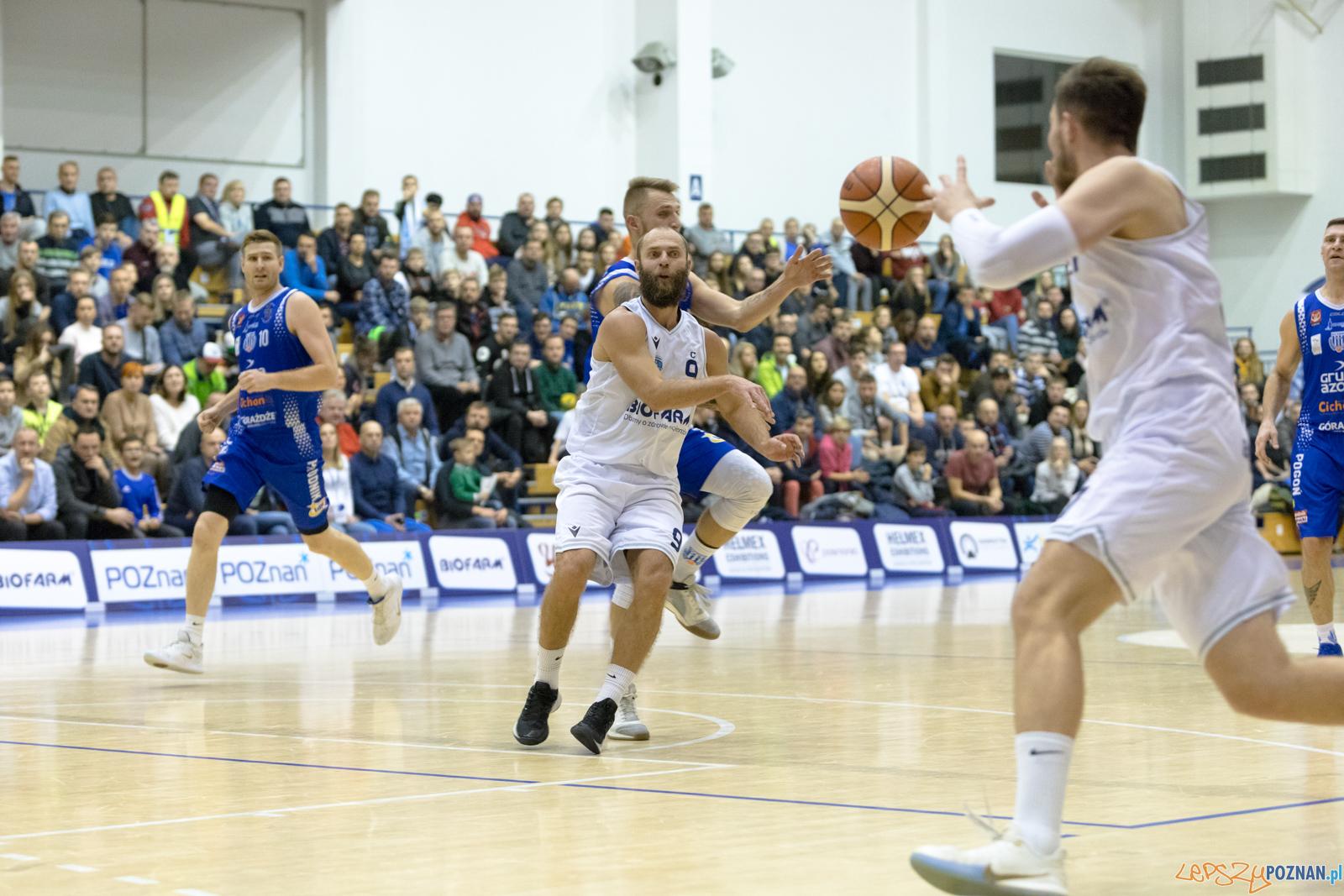 Biofarm Basket Poznań - Pogoń Prudnik  Foto: lepszyPOZNAN.pl/Piotr Rychter