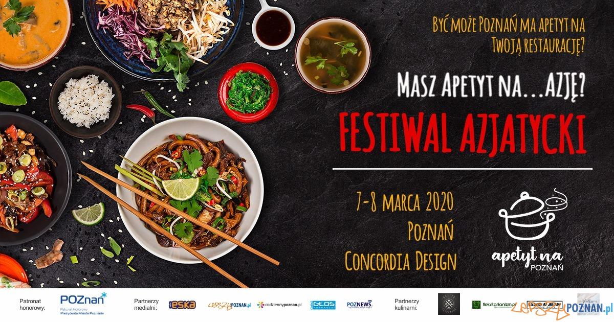 baner Apetyt na Azję  Foto: materiały prasowe