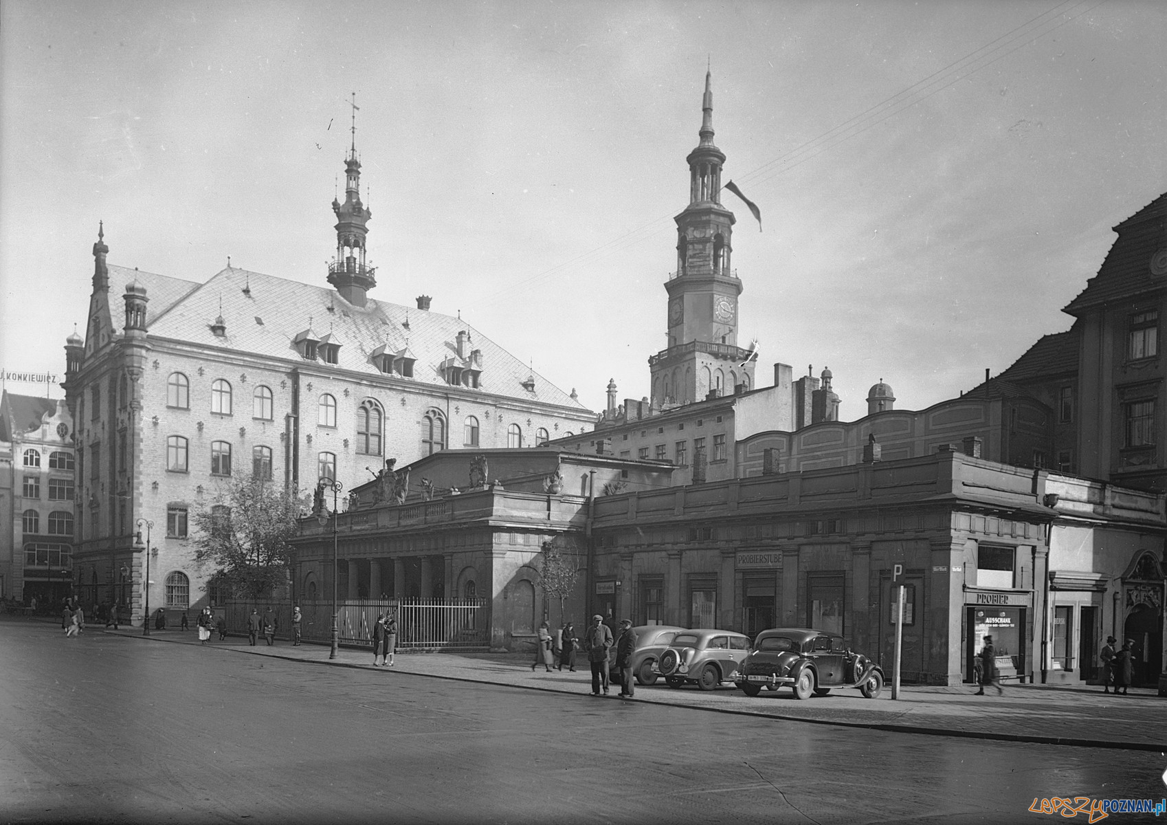 Stary Rynek 1941  Foto: Bildarchiv Foto Marburg