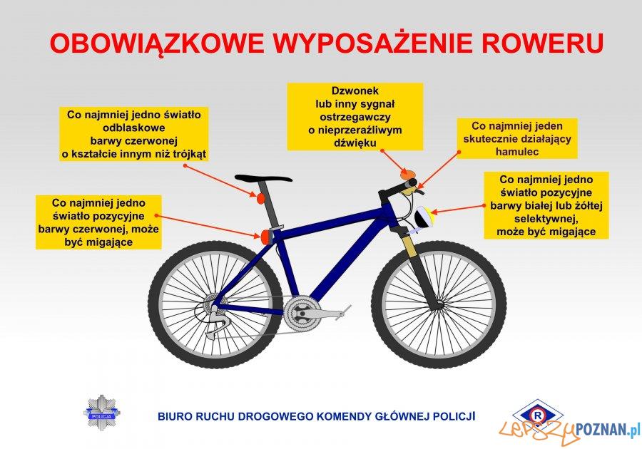 Wyposażenie roweru Foto: materiały prasowe / KMP