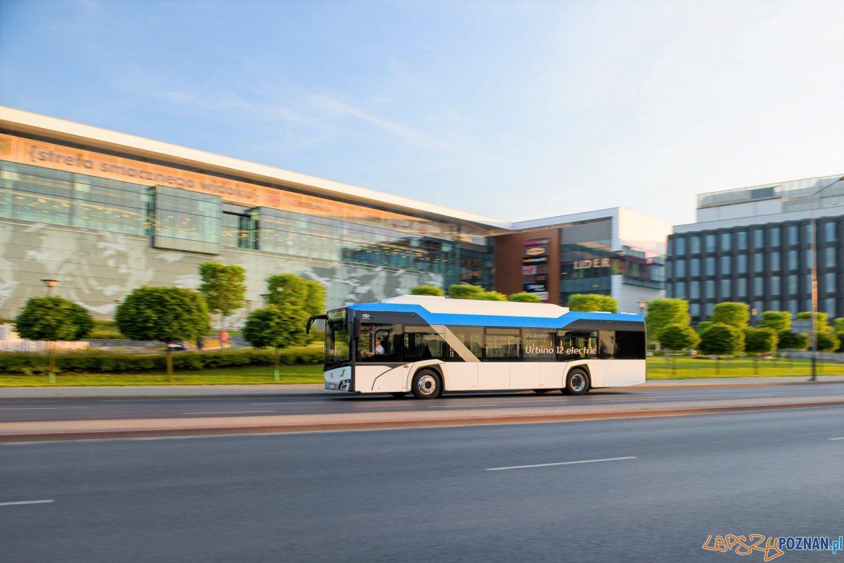 Szkolny autobus elektryczny od Solarisa Foto: Maciej Sznek