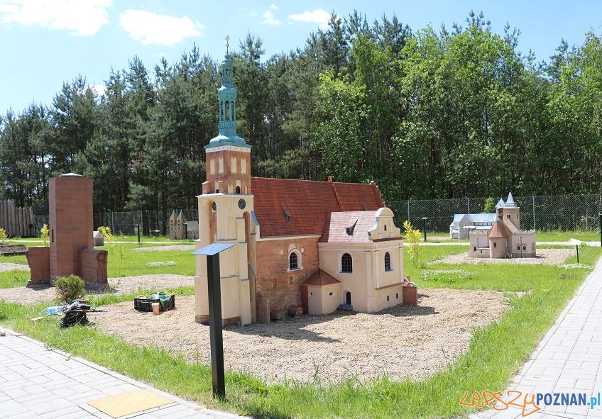 Makieta kościoła klasztornego pw. Narodzenia Najświętszej Marii Panny w Lubiniu Foto: UMiG Pobiedziska