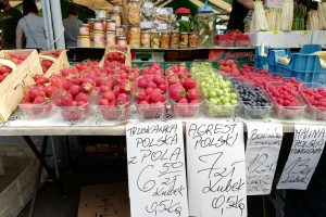 Rynek Jeżycki, czerwiec 2020  Foto: Tomasz Dworek