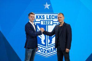 Lech Poznań - Jakub Kamiński  Foto: lechpoznan.pl / Przemek Szyszka