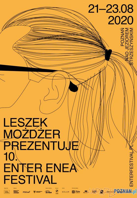 plakat Enter Enea Festival 2020 Foto: materiały prasowe
