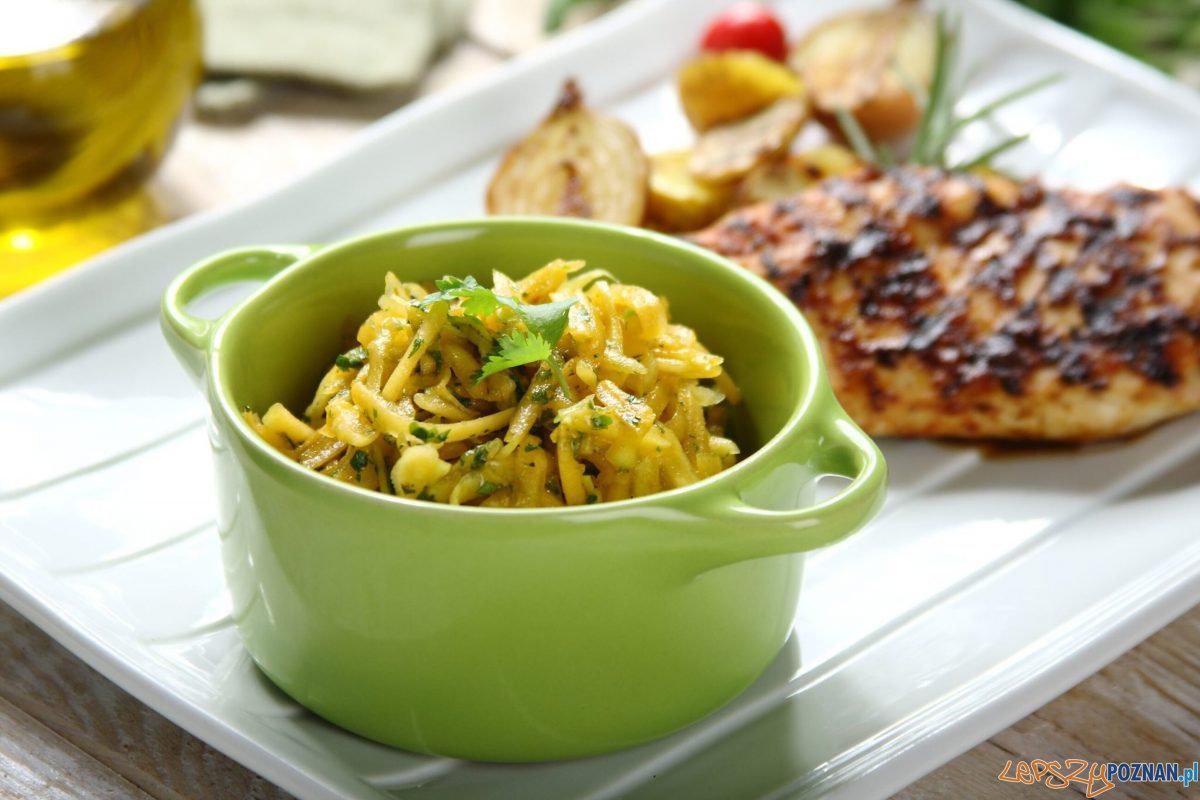 salatka z dynia i kolendrą Foto: materiały praswe Knorr