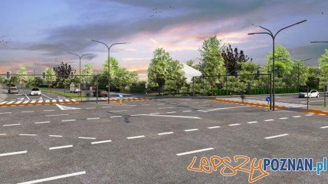Wizualizacja nowej części ul. św. Wawrzyńca  Foto: materiały prasowe