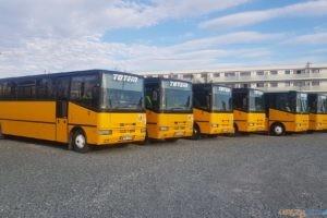 Autobusy szkolne  Foto: Totem Śrem (Facebook)
